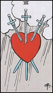 cartas de tarot que nos hablarían de divorcio
